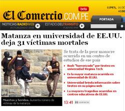 El Comercio Perú rediseña portal