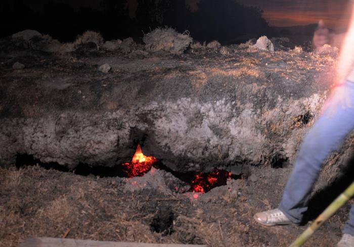 La tierra se hunde en Cochabamba
