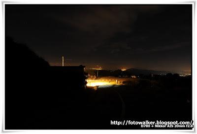星 夜 大帽山