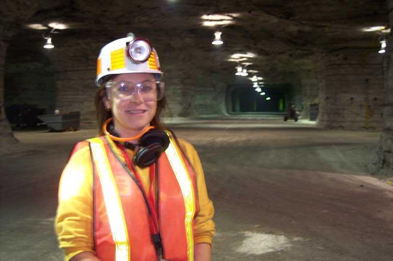 Margys Musings Salt Mines Under Lake Erie - Lake erie salt mines
