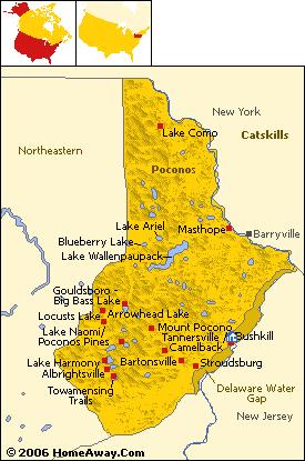 Margy's Musings: The Poconos - Pennsylvania