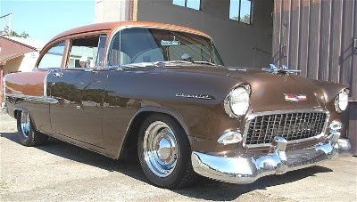 1955 Chevy Hot Rod For Sale In