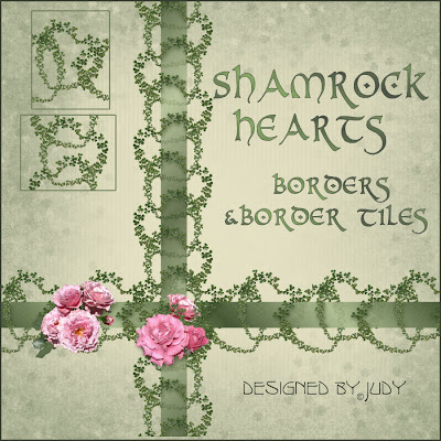 Shamrock Heart Borders and