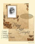 Link to Vintage Batik Scrap Kit