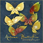 Link to Vibrant Autumn Butterfly Scraps