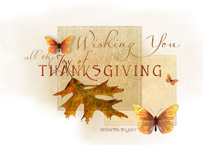Printable Thanksgiving card - click to enlarge