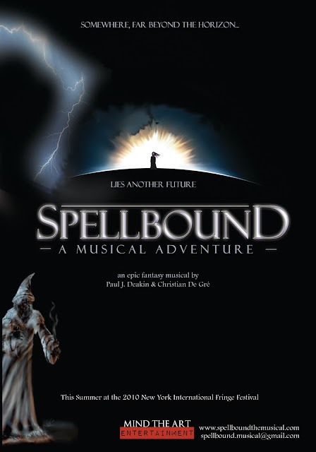SPELLBOUND accepted into New York International Fringe Festival