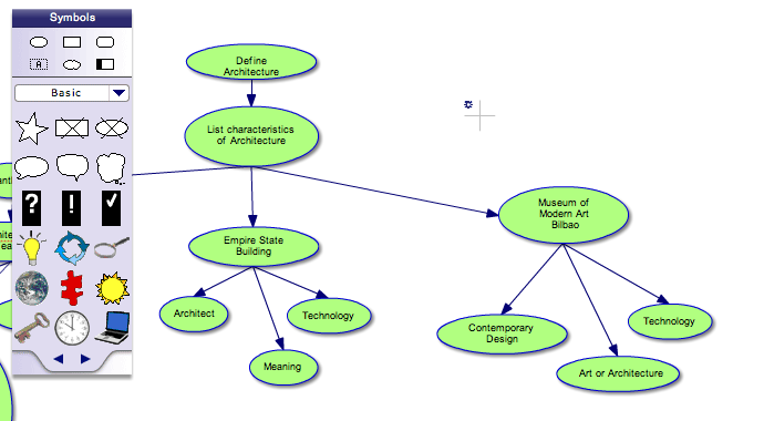 this is what puts this tool a level above many other online mind mapping tools - Mind Map Online Tool