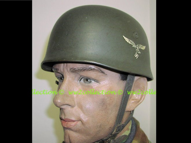 German WW2 Paratrooper Helmet