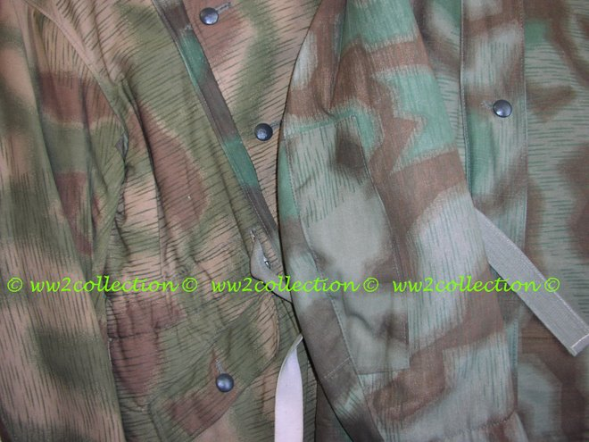 WW2 Camouflage Heer or Luftwaffe, Splotch camo