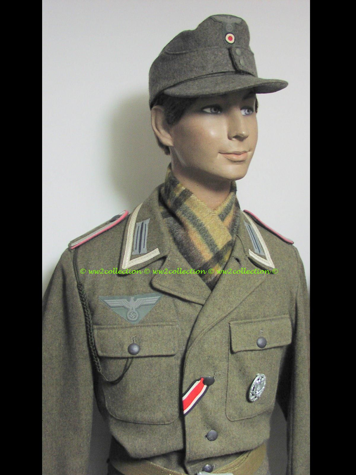 WW2 German Soldier, Uniform 1944
