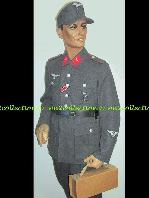 Display Mannequin with Uniform WW2 German Luftwaffe Flak EM Soldat