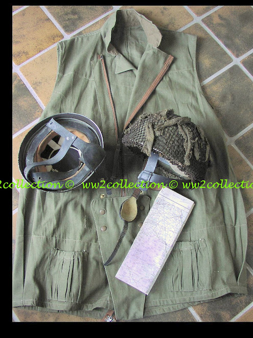 Paratrooper Helmet British WW2, Parachutist Jacket 1942