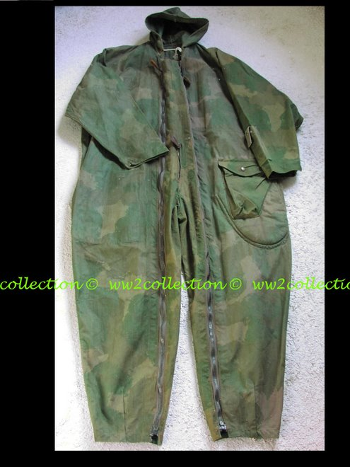 WW2 SOE Allies secret agent camouflage jump suit