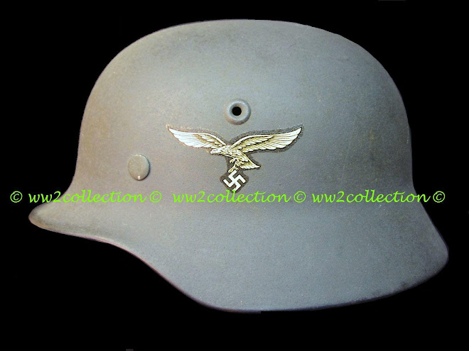 Luftwaffe Stahlhelm M35 Double Decal