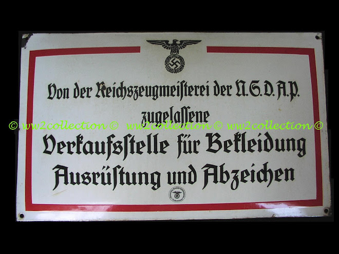 RZM Shop Sign, Reichszeugmeisterei  der N