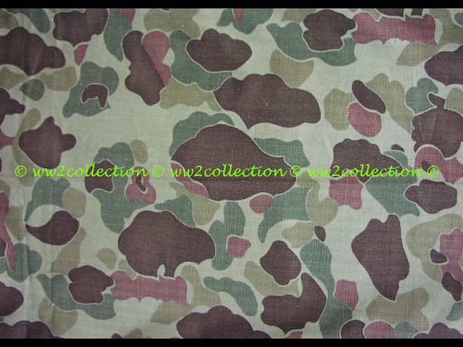 Camouflage WW2 USA Pacific Theatre and Normandy D-Day
