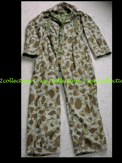 US-Army / USMC WW2 camo Coverall
