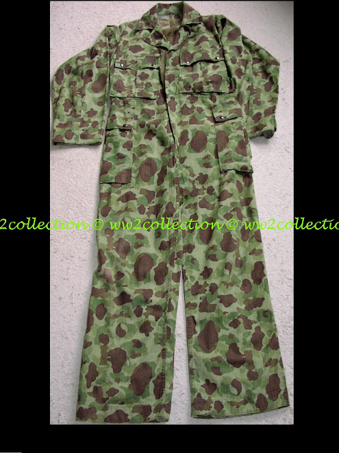 US-Army WW2 one piece jungle combat suit