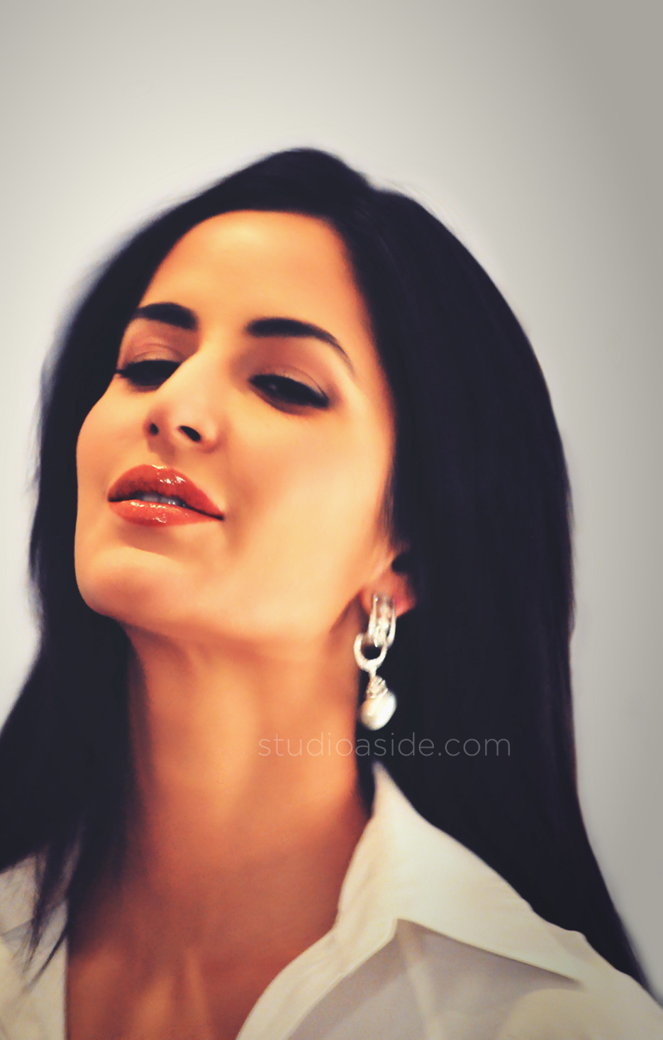 Indian Celebrity Sexy Girls: Katrina Kaif's close up pics from Pantene ...