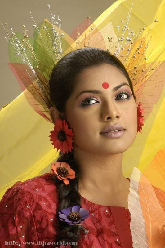 Bangladeshi Actress Tisha wallpapers