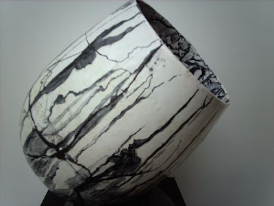 Mi dibujo en la cerámica