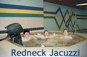 Redneck Jacuzzi Party