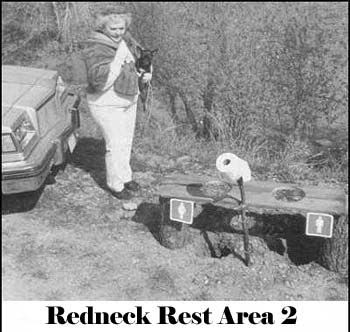 Redneck Rest Area