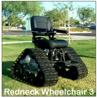 Redneck Off-Road Wheel Chair