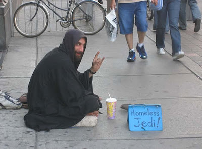 Poor Homeless Jedi