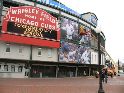 Wrigley Field Banners 2