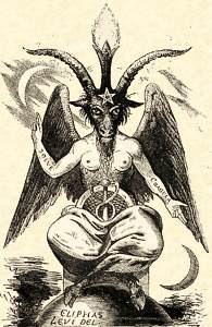 Levi's Baphomet, supposed idol of the Knights Templar