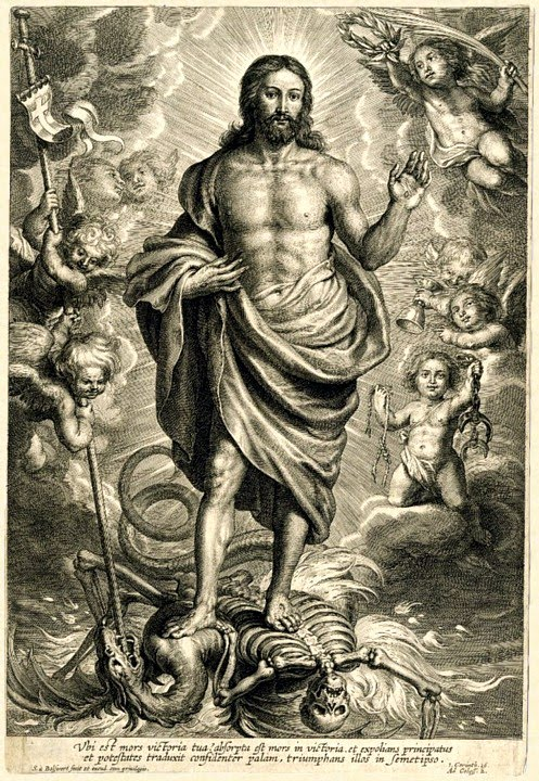 christ triumphant over sin and death essay Jesus triumphed over sin, over death, over the demons he is the triumphant christ trust him love him serve him worship him amen comments.