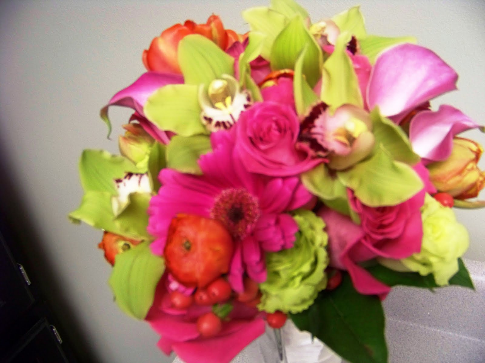Wedding Bouquets In April : Jeff french floral event design april wedding flowers great color