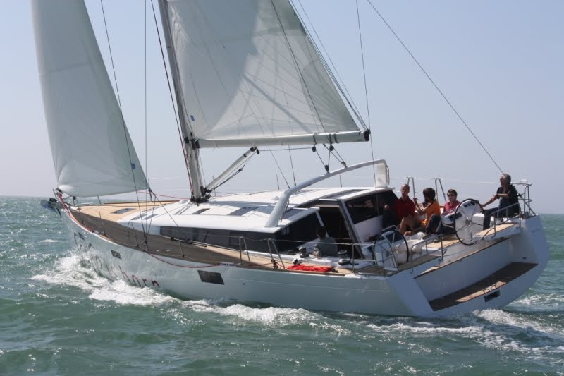 Click here to see the Youtube video of the Beneteau Sense 50 and the new ...