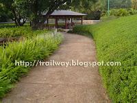 Walkway of Pu La Deshpande park