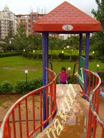 Evershine park slider at Mumbai in India