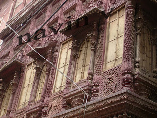 Artistic Building of Jodhpur in India