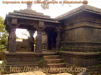 Ancient Ganpati temple of Mahabaleshwar in India