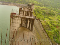 Varasgaon dam fathering the valley of Pune in India