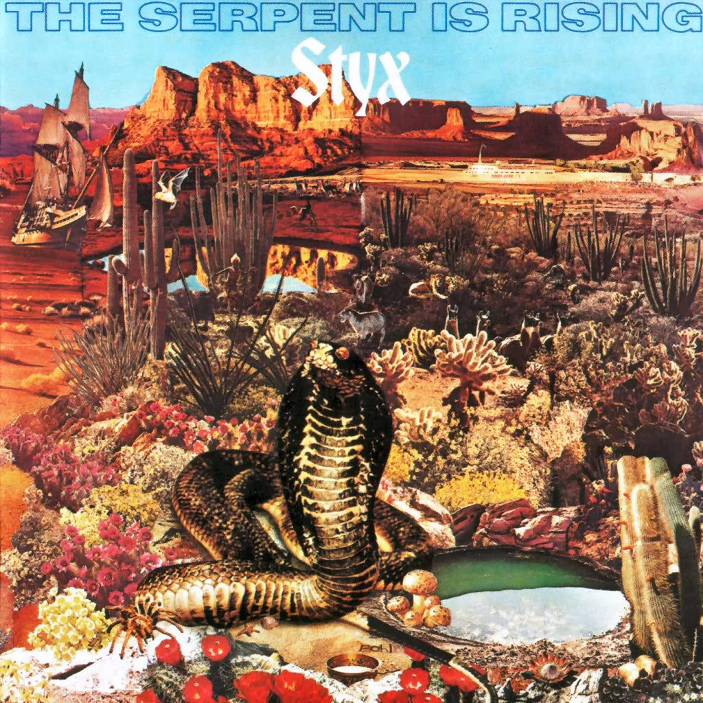Styx - The Serpent Is Rising