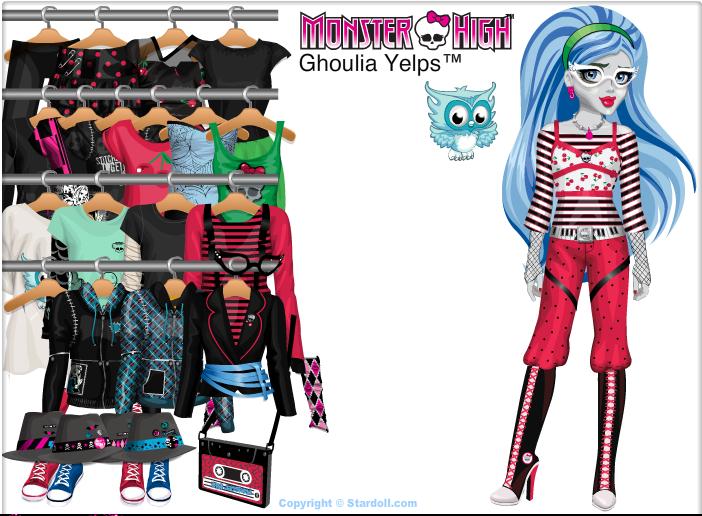 Vestir Uma Boneca Para Vestir a Boneca Ghoulia
