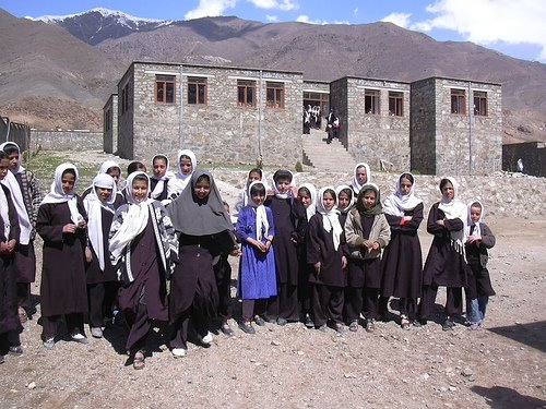 Students in Panjsher