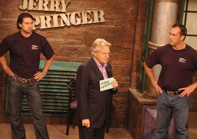 Boobs are great at the Jerry Springer