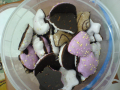 turta dulce Weiss: in diverse forme (stelute, semilune, braduti, cizme, stelute cazatoare, clopotei, inimioare, reni)