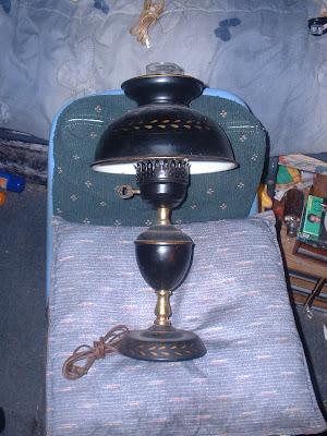 Brecante Antiquite Lampe De Table Et De Bureau
