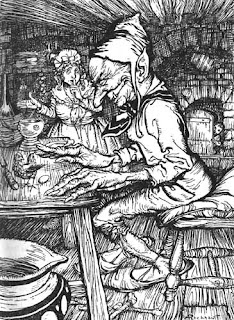illustration by Arthur Rackham