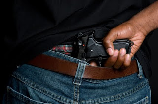Black Teen With Gun
