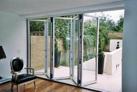 Incroyable Although The Original Concept Of A Folding Sliding Door Dates Back Over 100  Years Where They Were Often Used For Closing Off Small Storage Areas  Todayu0027s ...