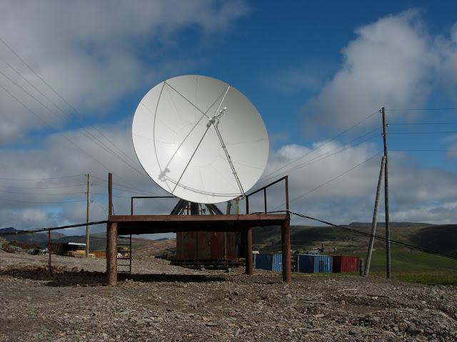 чукотка спутниковая антенна